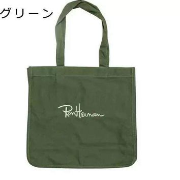 Japan's new Ron Herman canvas bag handbag joker contracted one shoulder students handheld shopping bag