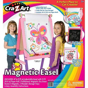 Cra-Z-Art 3 In 1 Magnetic Easel