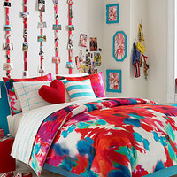 Teen Vogue Poppy Art Comforter Set - Teen Bedding - Bed & Bath - Macy's