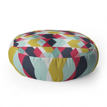 Heather Dutton Tribeca Nightlife Floor Pillow Round