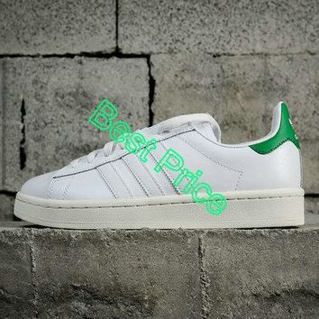 2018 How To Buy Adidas x Nigo Campus 80s Running White Green B33821 sneaker