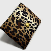Hand Crafted Tablet Case from Animal Print Fabric/Case for:iPadMini,Kindle Fire HD7,Samsung Galaxy 7, Google Nexus,  Nook HD 7
