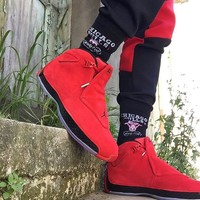 Air Jordan 18 Toro Red Black Aj18 Basketball Shoes Retro Sneakers