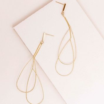 Beauty Beckons Tear Drop Earrings