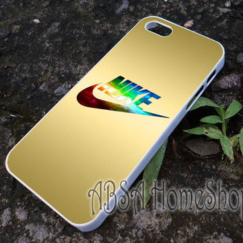 gold nike just do it case for iPhone 4/4s/5/5s/5c/6/6+ case,iPod Touch 5th Case,Samsung Galaxy s3/s4/s5/s6Case