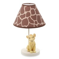 Disney Baby® Lion King Go Wild Lamp & Shade