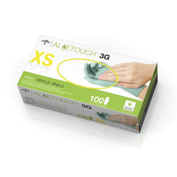 GLOVE,EXAM,SYNTHETIC,ALOETOUCH 3G,PF