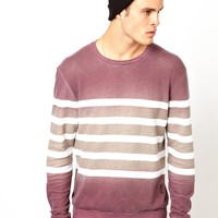 Religion | Gradient Stripe Sweat at ASOS