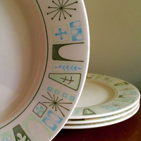 taylor smith taylor taylorstone cathay dinner plates set of 4