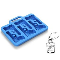 Pistol Ice 3D Mold Silicone Mold Cooking Tools Cutter Ice Molds Cream Mould Cooking Tools Tools