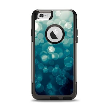 The Green Unfocused Orbs Of Light Apple iPhone 6 Otterbox Commuter Case Skin Set