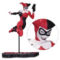 DC Comics Harley Quinn by Terry Dodson Red, White and Black Statue