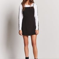 Pinstripe Overall Cami Dress