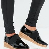 Missguided - Black Contrast Platform Shoe