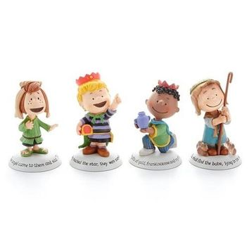 Glad Tidings Peanuts Nativity Additional Characters Set