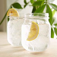 Mason Jar Cup Set- Clear One