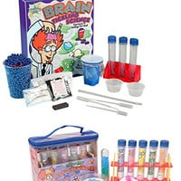 Be Amazing Brain Tickling Science and Test Tube Wonders Science Kit Set