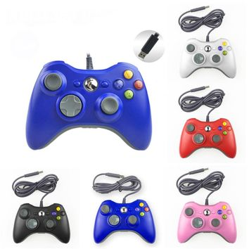 USB Gamepad for Microsoft XBOX 360 Handle Gaming Joystick Wired XBOX360 Neutral Game Controller for WinXP XP-64 Vista Vista-64