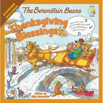 The Berenstain Bears Thanksgiving Blessings - Walmart.com