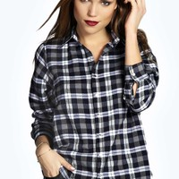 Laila Brushed Check Shirt