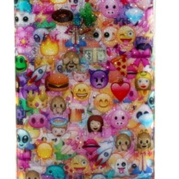 3D Full wrap emoji case for iPhone 4 4s 5 5s 5c 6 6Plus