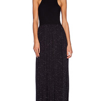 LNA Bel Air Maxi Dress in Black