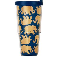 Insulated Tumbler with Lid in Tusk in Sun by Lilly Pulitzer - FINAL SALE