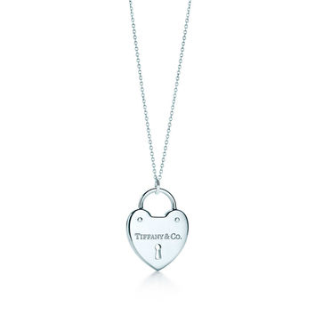Tiffany Heart Locket Necklace