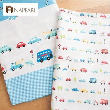 100% cotton cloth bedding baby handmade cotton cloth car design patchwork pattern sewing fabrics