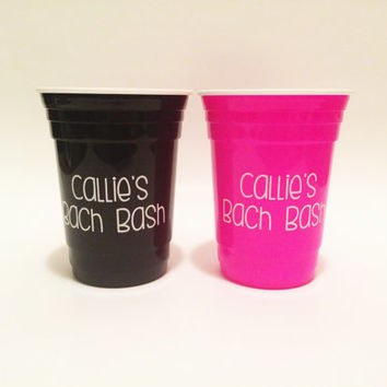 Bachelorette Party Cups, Bachelorette Cups, Party Cups, Bachelorette Bash, Bachelorette Gifts, Bach Bash, Bach Party, Customized Cups, Cups