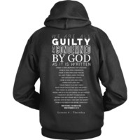 Christian Hoodies - Romans 3-10 Thursday Disciple Tee Hoodie