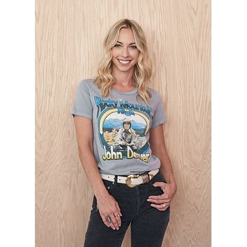 John Denver Rocky Mountain High Women's Crew T-Shirt