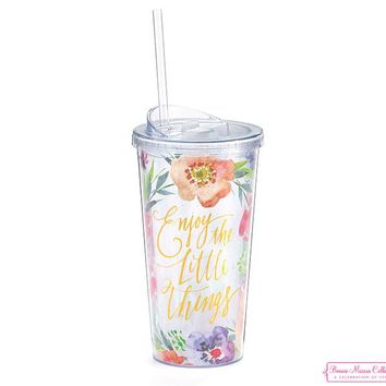 Floral Inspirations Travel Tumblers