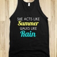 she acts like summer walks like rain - glamfoxx.com