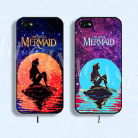 Disney phone case Disney mermaid case Disney little mermaid phone case  for iphone 4/4s 5/5s Galaxy s3 s4 s5