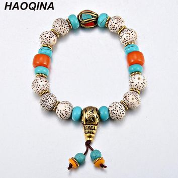 Fashion stars the moon bodhi buddhist prayer beads bracelet Meditation, prayer bracelet jewelry