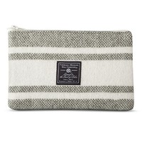 Faribault for Target Wool and Canvas Zipper Pouch - Cannon Stripe