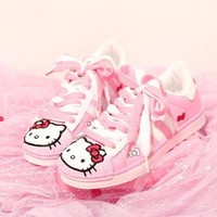 Pink Kitty Trainers
