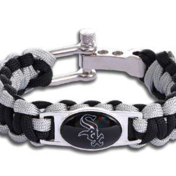 MLB - Chicago White Sox Custom Paracord Bracelet