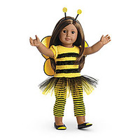 American Girl® : Bee Myself Outfit for Dolls + Charm