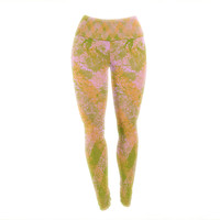 "Marianna Tankelevich ""Fuzzy Feeling"" Yoga Leggings"
