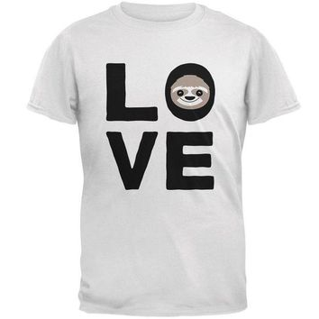 LMFCY8 Sloth Love Series Mens T Shirt