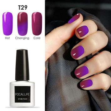 Hot Sale 1pcs Color Changing Gel Varnish Long Lasting Temperature Chameleon Soak Off UV Lamp Nail Gel Polish