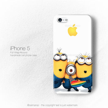 Minions Despicable Me 2 Movie iPhone 5/5s Case, iPhone 4/4s Cover