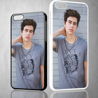 Nash Grier X0076 iPhone 4S 5S 5C 6 6Plus, iPod 4 5, LG G2 G3, Sony Z2 Case