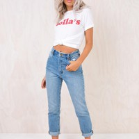 Rolla's 90s Blue Dusters Jeans
