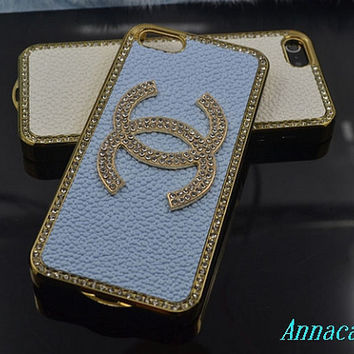 Chanel  High quarlity Bling iphone case iphone 4 case iphone 4s case iphone 5 case iphone 4 cover iphone 4 4s cover iphone 5 cover otterbox