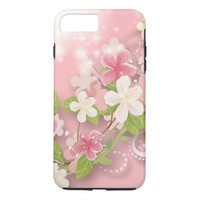 Girly Pink iPhone 8 Plus/7 Plus Case