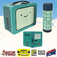 Adventure Time BMO Tin Tote Gift Set - Convention Exclusive - Bif Bang Pow! - Adventure Time - Lunch Boxes at Entertainment Earth