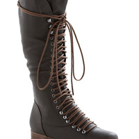 Follow the Cedar Boot in Umber | Mod Retro Vintage Boots | ModCloth.com